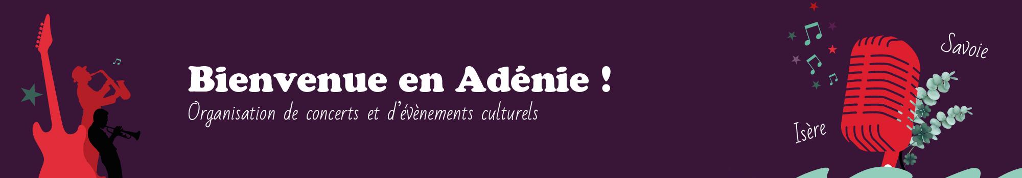L'Adénie - Entête - Retour à l'accueil